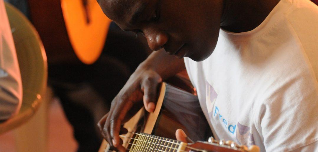 Imparare la chitarra: foto